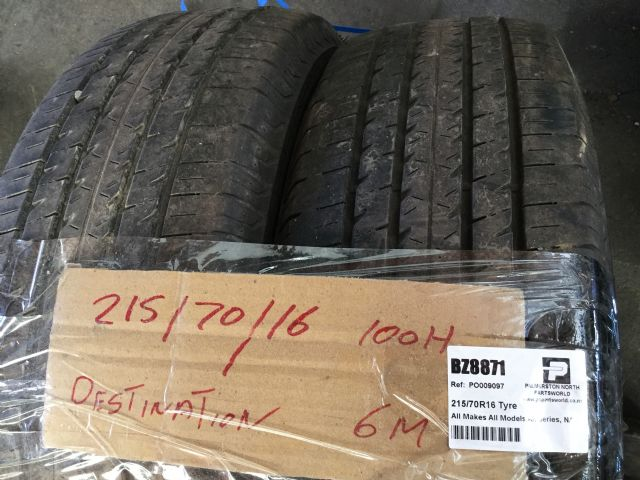 All Makes All Models All Series 215/70R16 Tyre