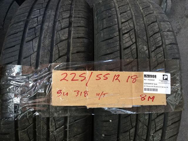All Makes All Models All Series 225/55R18 Tyre