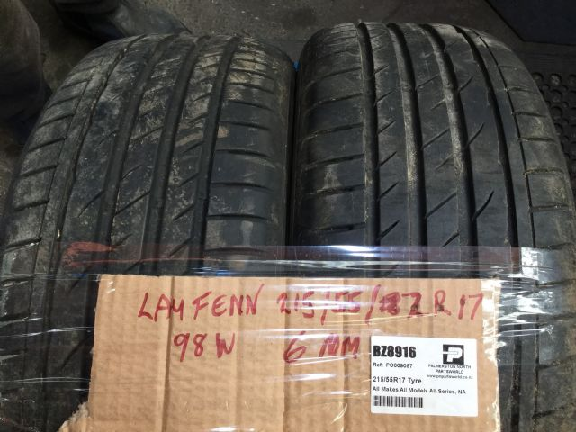 All Makes All Models All Series 215/55R17 Tyre