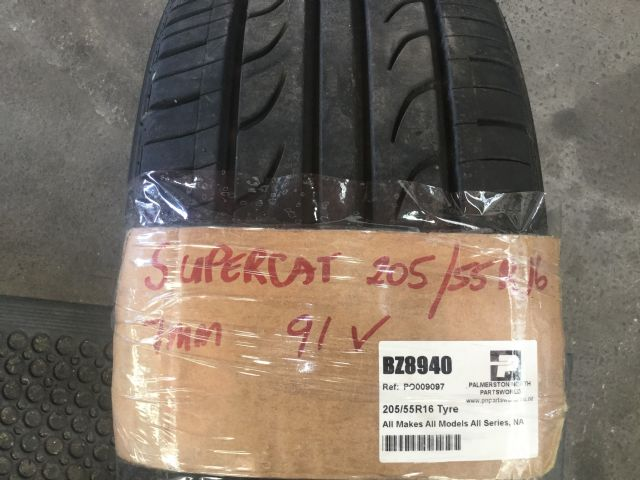 All Makes All Models All Series 205/55R16 Tyre